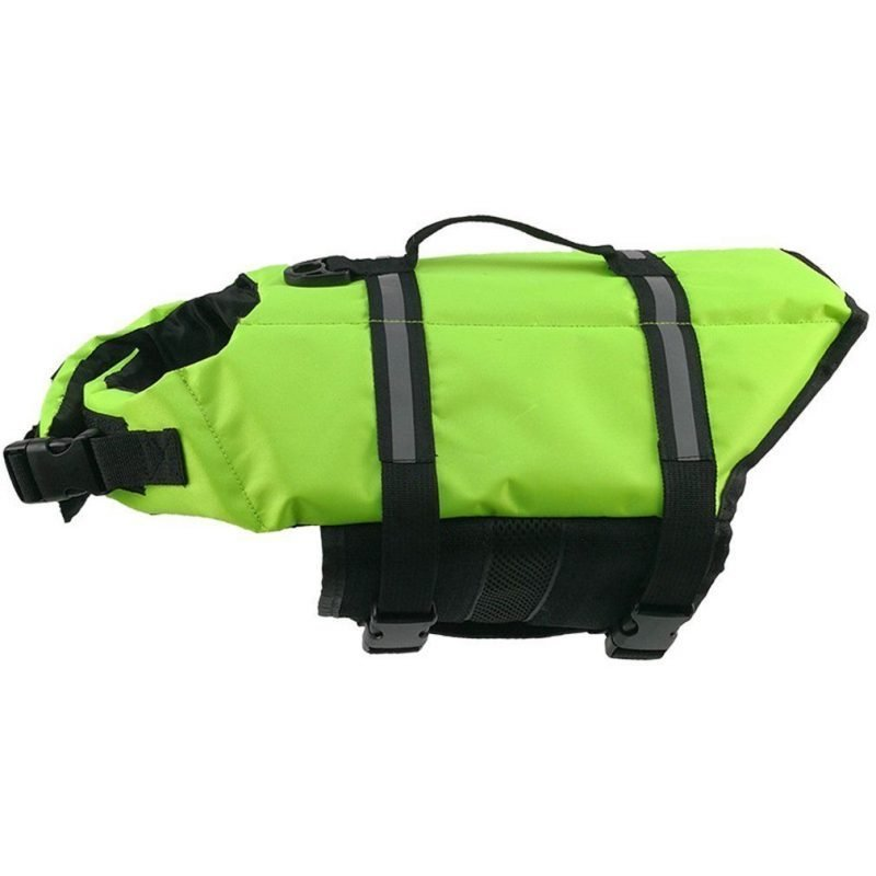 Green-Dog-Life-Jacket